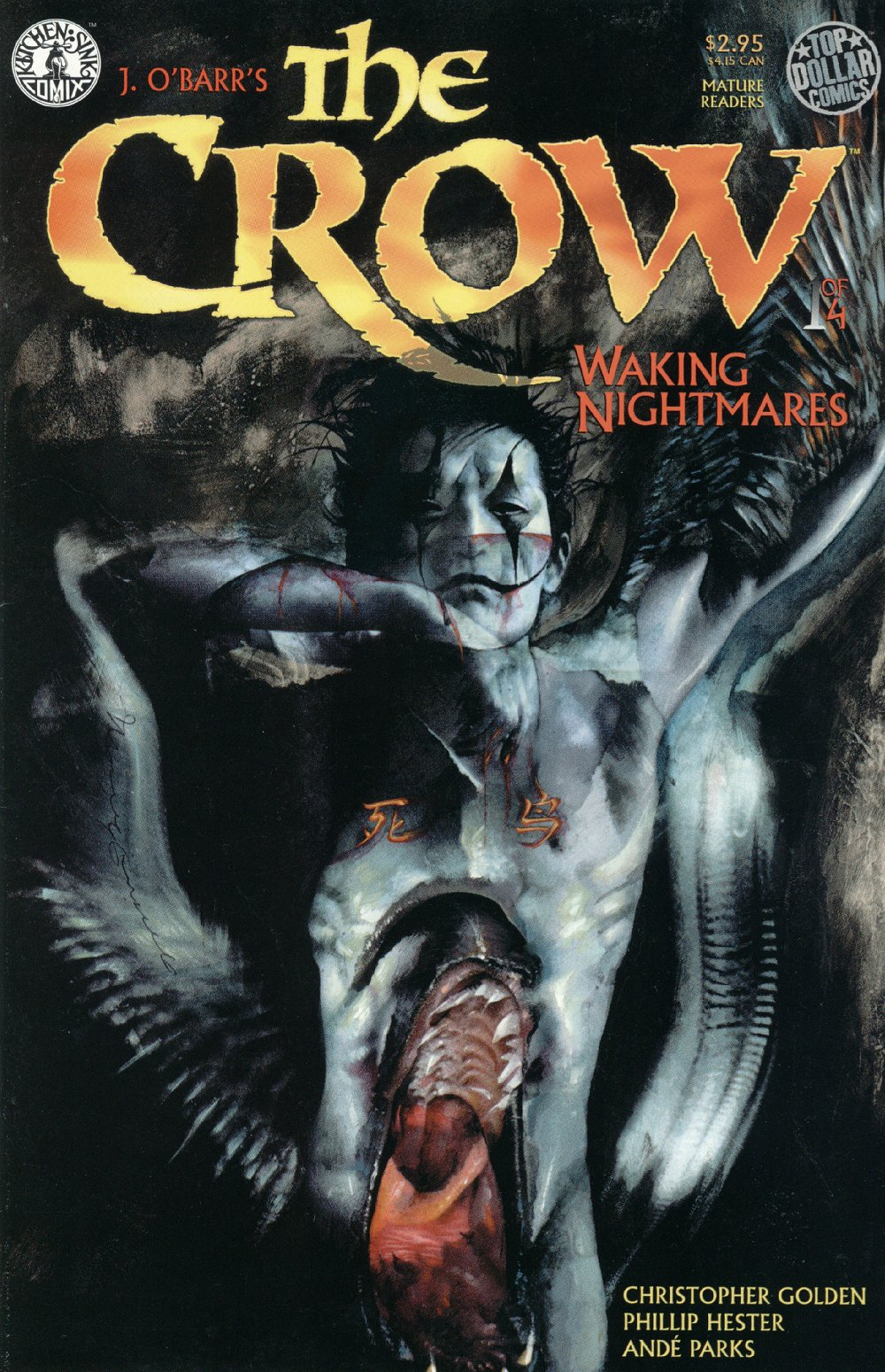 1 The Magician On Pinterest: The Crow – Waking Nightmares # 1, 1997