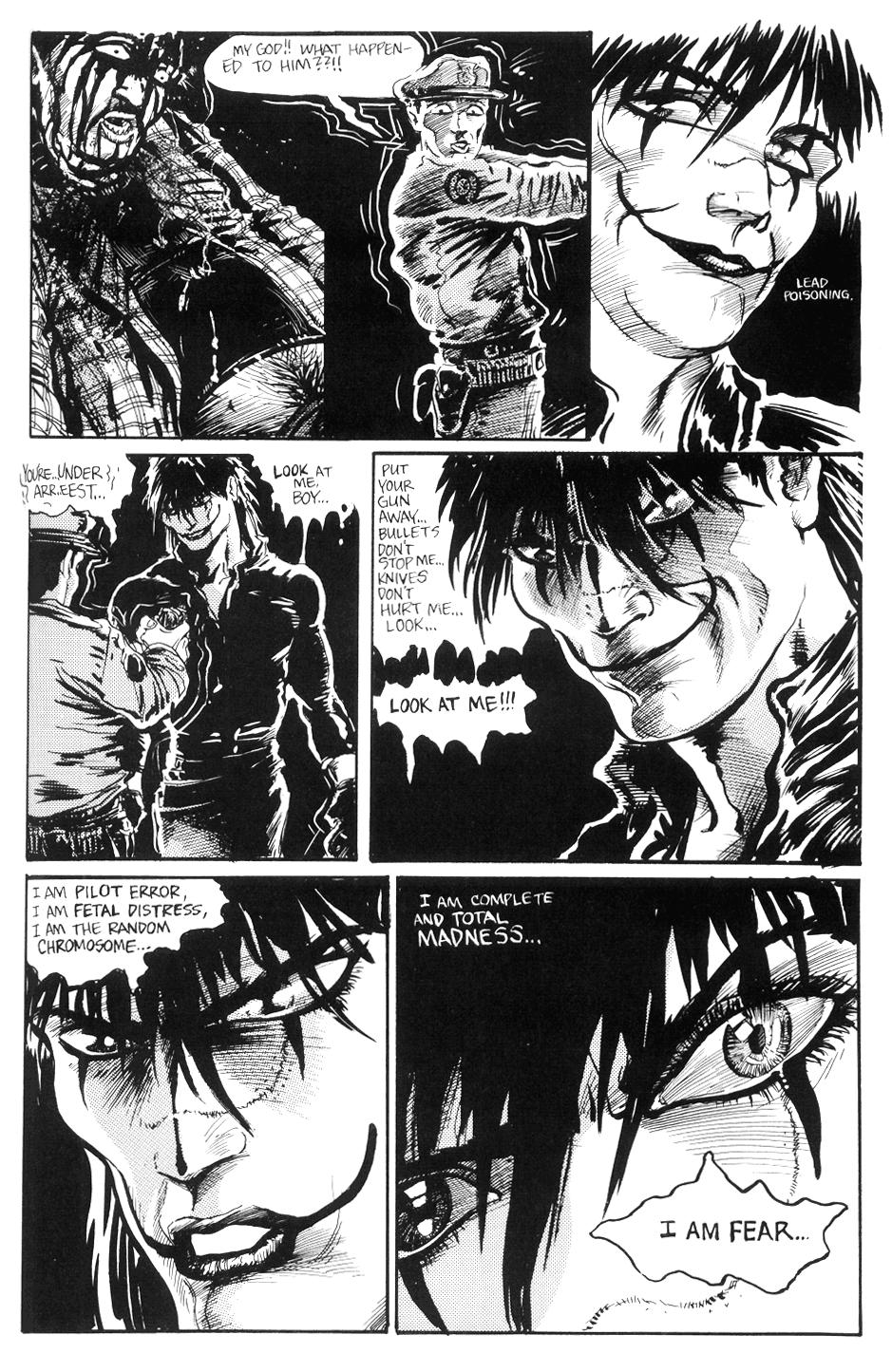 the crow comic