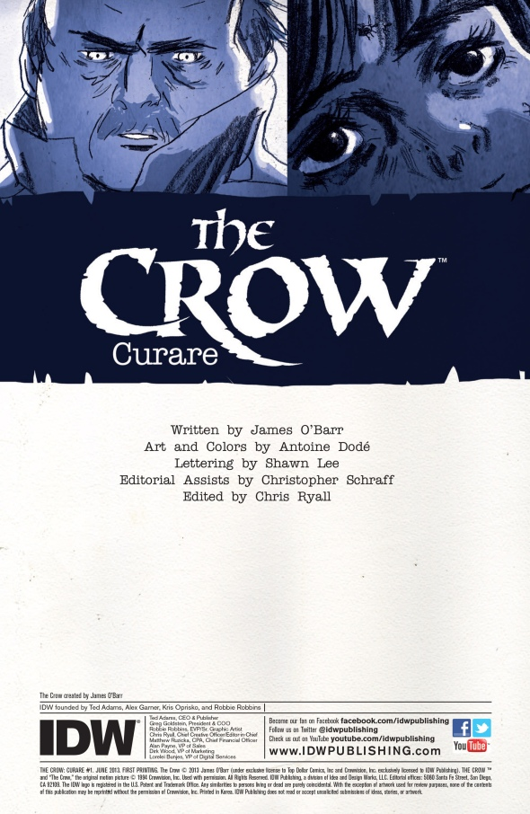 The Crow - Curare 001-002