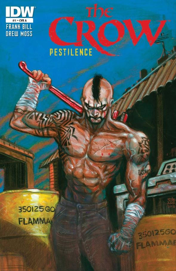 The Crow - Pestilence 001-000