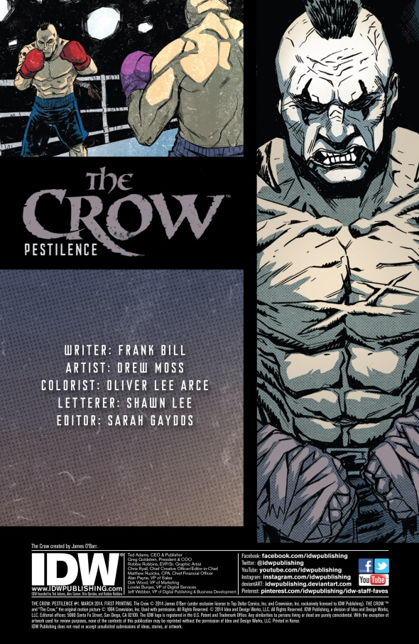 The Crow - Pestilence 001-001