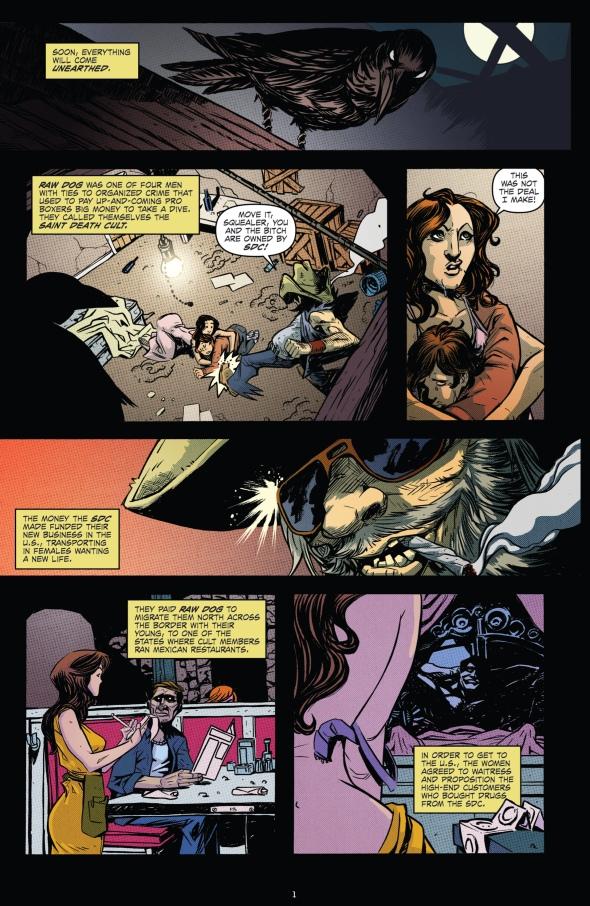 The Crow - Pestilence 001-002