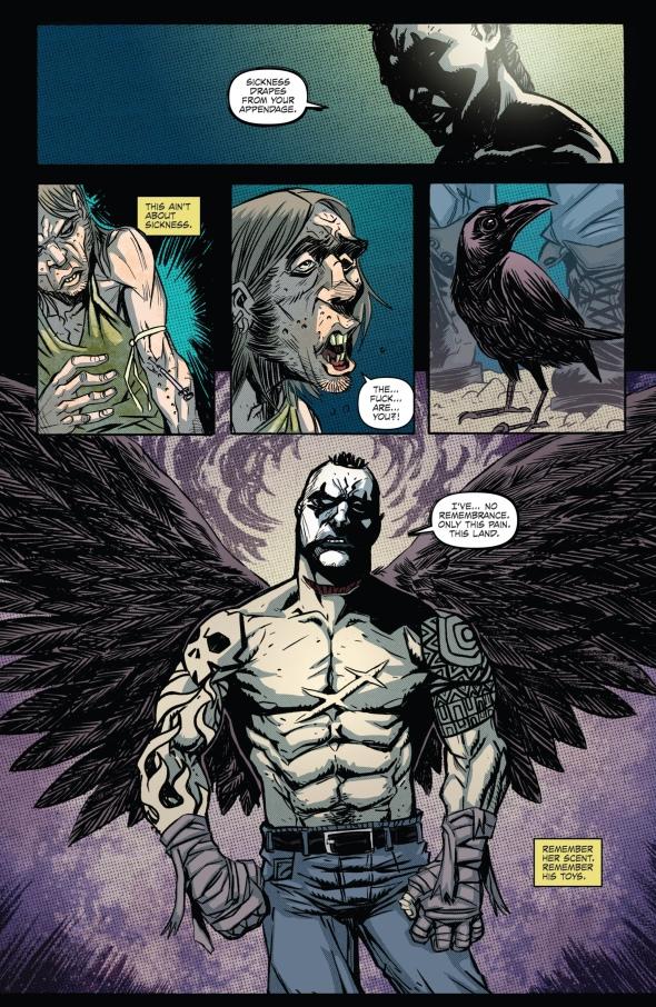 The Crow - Pestilence 001-006