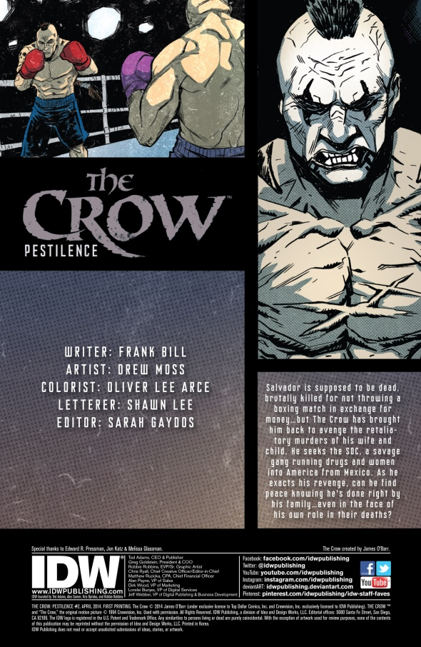 The Crow - Pestilence 002-001